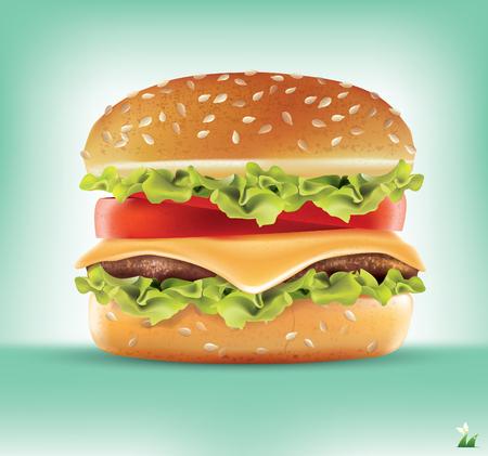 hamburger.vector Illustration