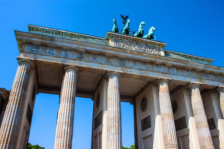 brandenburg gate: Brandenburg Gate in Berlin, Germany