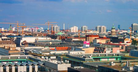 Skyline of Berlin, Germany photo