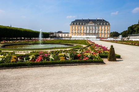 rhine westphalia: Augustusburg Palace in Bruhl, Germany