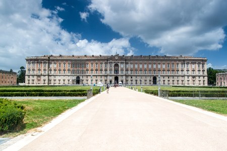 Palace of Caserta in southern Italy Editorial