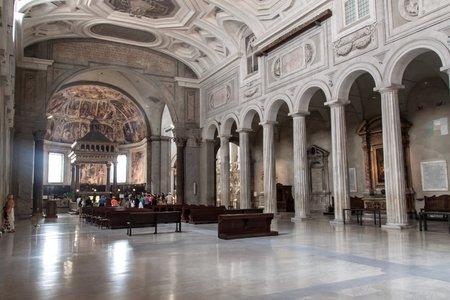 vincoli: Church of San Pietro in Vincoli, Rome, Italy Editorial