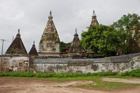 hinduist: One of hinduist temples in Varanasi
