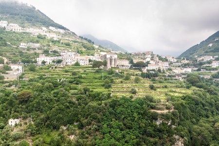 scala: View of a village Scala at Amalfi coast, Italy Stock Photo
