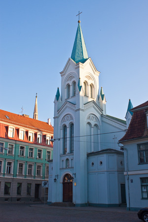 our lady of sorrows: Our Lady of Sorrows Church, Riga