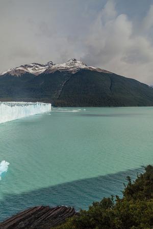 argentino: Perito Moreno glacier and Lago Argentino in Patagonia, Argentina