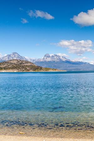 tierra: Lapataia bay in National Park Tierra del Fuego, Argentina