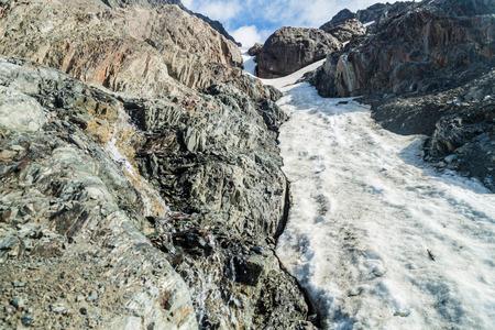 tierra: Snow at Martial mountain near Ushuaia, Tierra del Fuego, Argentina