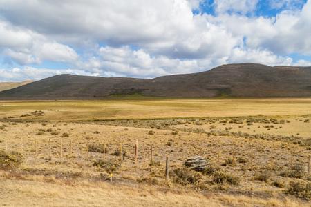 profundity: Countryside of Tierra del Fuego island, Chile