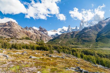 fitz: Fitz Roy mountain, National Park Los Glaciares, Patagonia, Argentina
