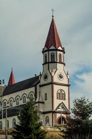 corazon: Iglesia del Sagrado Corazon church in Puerto Varas, Chile