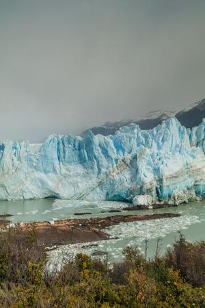 moreno glacier: Perito Moreno glacier, Los Glaciares National Park, Patagonia, Argentina Stock Photo