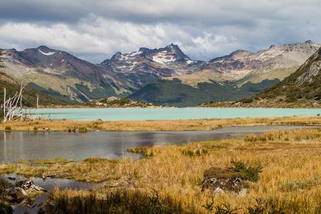 tierra del fuego: Lakes in Tierra del Fuego, Argentina