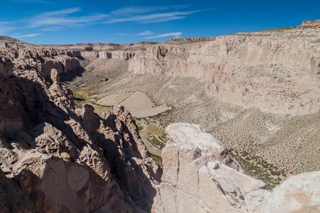 bolivia: Anaconda canyon in Bolivia