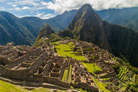 machu picchu: Machu Picchu ruins in Peru