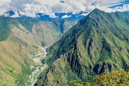 hydroelectric station: Hydroelectric station in Urubamba river valley, Peru Stock Photo