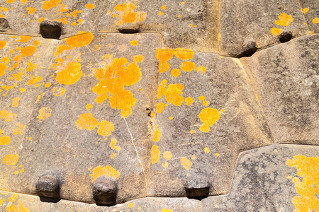 Detail Of Perfect Inca Stonework Of Temple Of The Sun At Machu ...