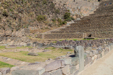 sacred valley of the incas: Inca ruins of Ollantaytambo, Sacred Valley of Incas, Peru