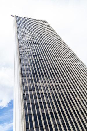 medellin: Modern skyscraper in Medellin, Colombia Stock Photo