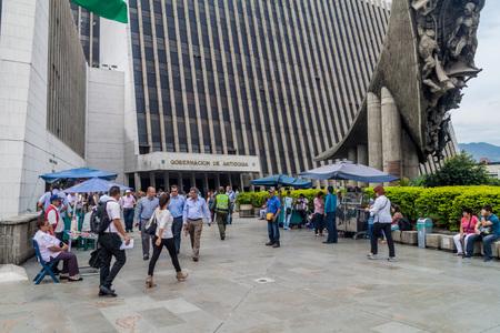 antioquia: MEDELLIN, COLOMBIA - SEPTEMBER 1: Building of regional government of region Antioquia in Medellin. Editorial