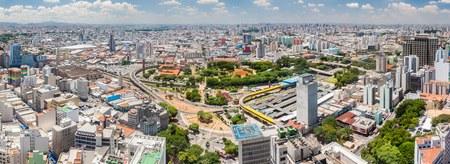 Panorama of Sao Paulo, Brazil