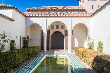 Alcazaba fortress in Malaga, Spain Editorial