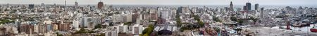 montevideo: Aerial view of Montevideo, Uruguay Editorial