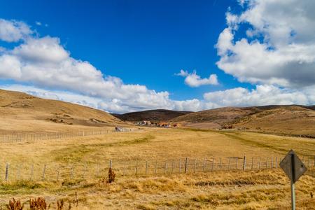 tierra: Countryside of Tierra del Fuego island, Chile
