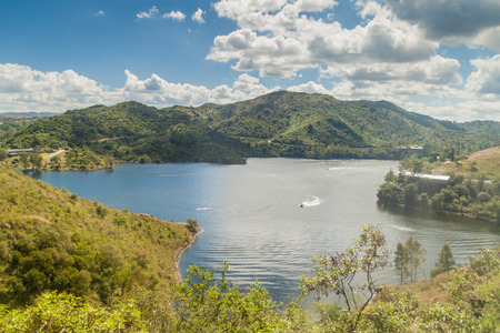 Los Molinos reservoir near Cordoba, Argentina Foto de archivo