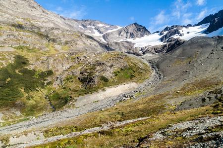 glaciar: Glaciar Martial near Ushuaia, Tierra del Fuego, Argetina