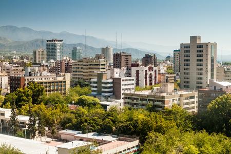 Aerial view of Mendoza, Argentina Foto de archivo