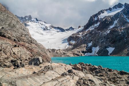 tres: Laguna de los Tres in National Park Los Glaciares, Argentina