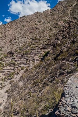 past civilizations: Ruins of pre-Inca city Quilmes, Argentina Stock Photo