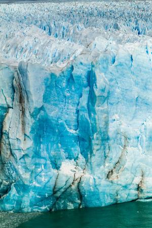 disrupt: Detail of Perito Moreno glacier in Patagonia, Argentina Stock Photo