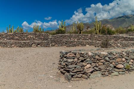 past civilizations: Ruins of ancient pre-inca town Quilmes, Argentina
