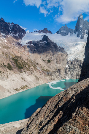 Laguna Sucia lake, National Park Los Glaciares, Patagonia, Argentina