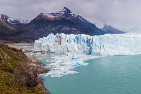 moreno glacier: Perito Moreno glacier, Argentina Stock Photo