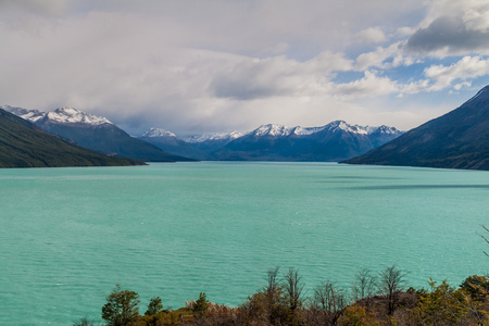 lake argentina: Lago Argentino lake in Patagonia, Argentina