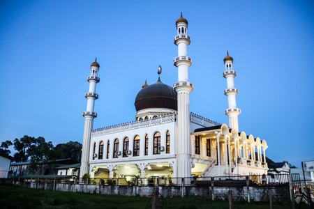 Mosque Kaizerstraat in Paramaribo, capital of Suriname.