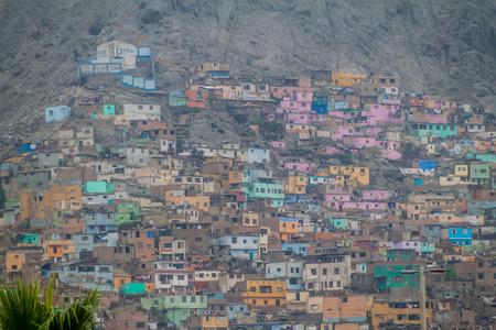 shantytown: Shantytown in Rimac neighborhood of Lima, Peru