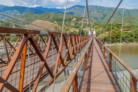antioquia: Puente de Occidente (Western Bridge) in Santa Fe de Antioquia, Colombia