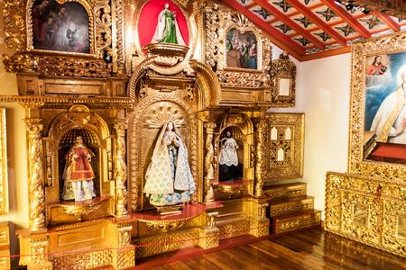 POTOSI, BOLIVIA - APRIL 19, 2015: Interior of the Convento de Santa Teresa monastery, Potosi, Bolivia Editorial