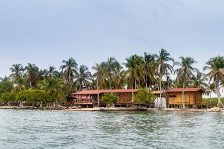 archipelago: Resort on Boqueron island of San Bernardo archipelago, Colombia