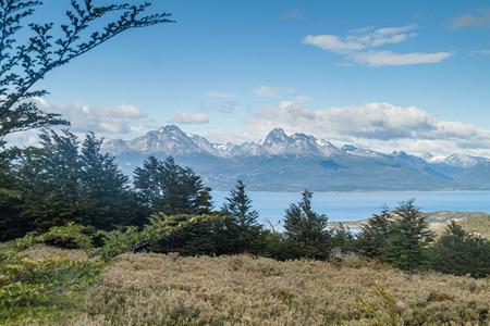 tierra: Mountains in National Park Tierra del Fuego, Argentina