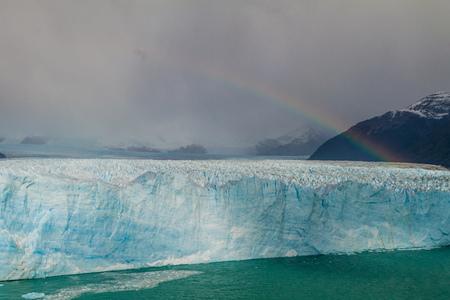 calafate: Perito Moreno glacier in Patagonia, Argentina