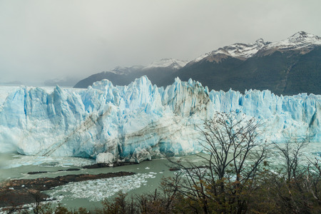 calafate: Perito Moreno glacier, Los Glaciares National Park, Patagonia, Argentina Stock Photo