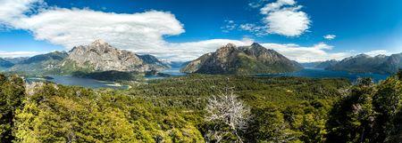 nahuel: Perito Moreno Oeste and Nahuel Huapi lake, Argentina Stock Photo