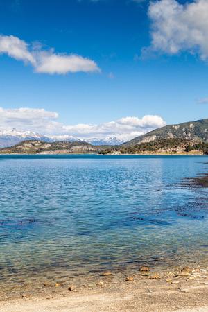 tierra del fuego: Lapataia bay in National Park Tierra del Fuego, Argentina