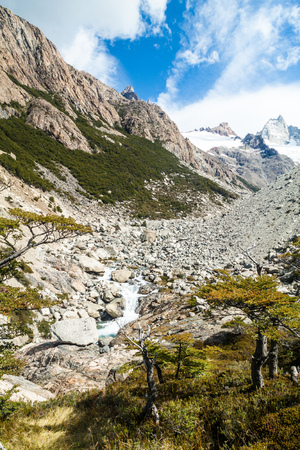 Countryside of National Park Los Glaciares, Argentina
