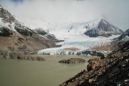 los glaciares: Laguna Torre lake in National Park Los Glaciares, Patagonia, Argentina Stock Photo